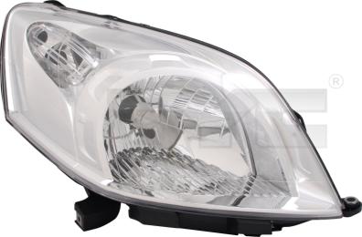 20-11811-05-2 TYC Head Lamp