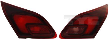 17-0285-11-2 TYC Inner Tail Lamp Unit