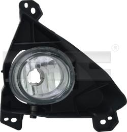 19-12153-01-9 TYC Fog Lamp Unit