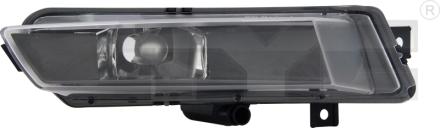19-11015-01-9 TYC Fog Lamp Unit