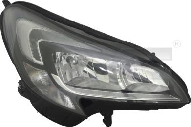 20-15017-16-2 TYC Head Lamp