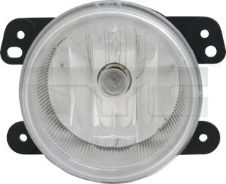 19-5989-00-9 TYC Fog Lamp Assy