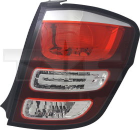 11-12555-01-2 TYC Outer Tail Lamp Unit