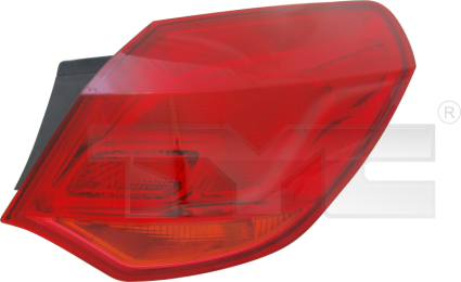 11-11647-01-2 TYC Outer Tail Lamp Unit