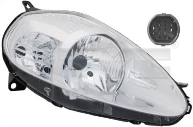 20-0849-05-2 TYC Head Lamp