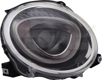 20-15505-05-2 TYC Head Lamp Low Beam