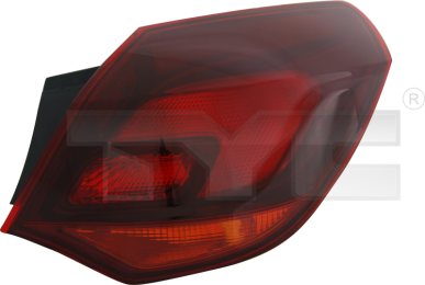 11-11647-11-2 TYC Outer Tail Lamp Unit