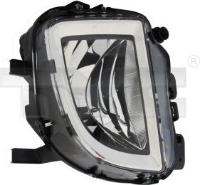 19-0907-01-9 TYC Fog Lamp Unit