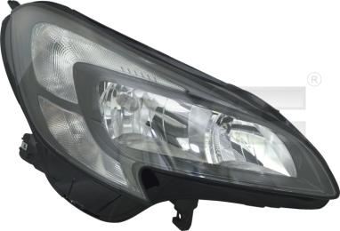 20-15017-05-2 TYC Head Lamp
