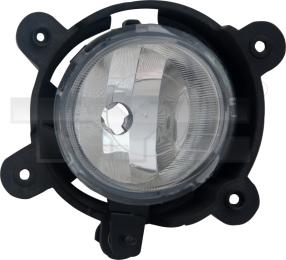 19-0629-01-9 TYC Fog Lamp Unit