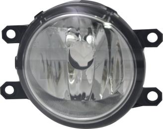 19-5973-01-9 TYC Fog Lamp Unit