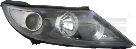 20-12803-25-2 TYC Head Lamp
