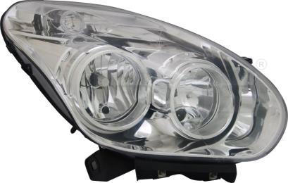 20-12425-05-2 TYC Head Lamp