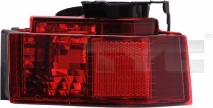 19-0595-11-2 TYC Rear Fog Lamp Unit