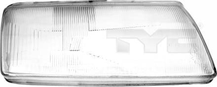 20-3443-LA-1 TYC Head Lamp Lens