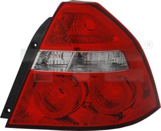 11-11743-01-2 TYC Tail Lamp Unit