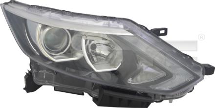 20-14679-06-2 TYC Head Lamp