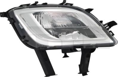 19-0921-00-21 TYC Fog Lamp Unit