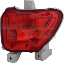 19-15009-01-2 TYC Rear Fog Lamp Unit