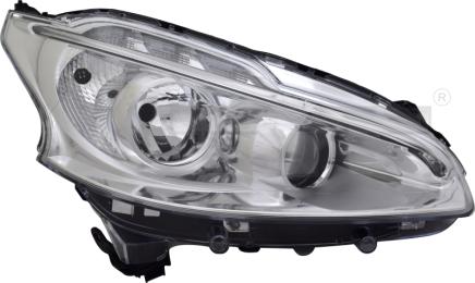 20-14353-06-2 TYC Head Lamp