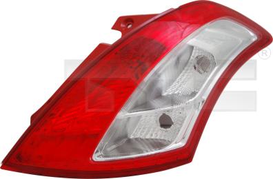 11-11759-01-2 TYC Tail Lamp Unit