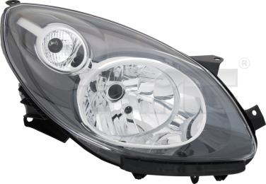 20-1401-06-2 TYC Head Lamp