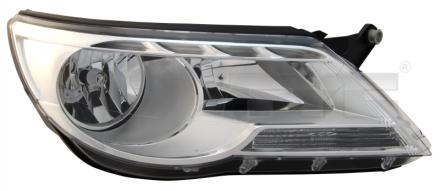 20-11765-05-2 TYC Head Lamp
