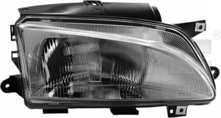 20-0465-05-2 TYC Head Lamp
