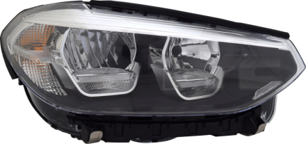 20-16555-06-9 TYC Head Lamp
