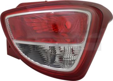 11-12627-01-2 TYC Tail Lamp Unit