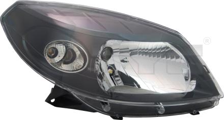 20-11793-36-2 TYC Head Lamp