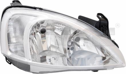 20-6065-35-2 TYC Head Lamp