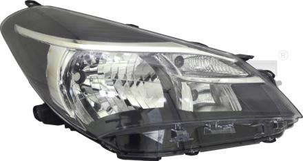 20-15517-05-2 TYC Head Lamp