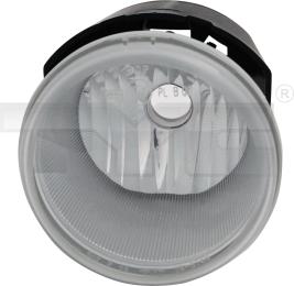 19-5769-01-9 TYC Fog Lamp Unit