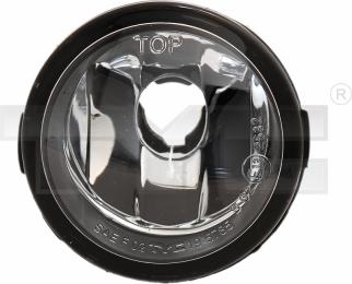 19-0561-01-2 TYC Fog Lamp Unit
