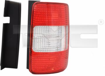 11-0454-01-2 TYC Tail Lamp Unit