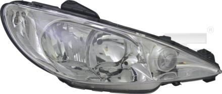 20-14363-05-2 TYC Head Lamp