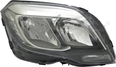 20-15301-05-9 TYC Head Lamp