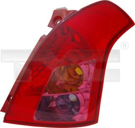 11-11371-01-2 TYC Tail Lamp Unit