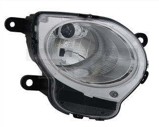 20-11565-00-21 TYC Head Lamp High Beam