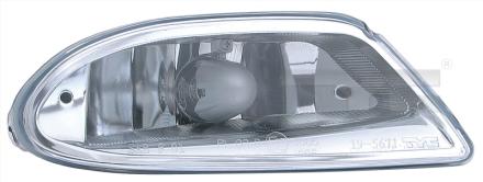 19-5671-05-9 TYC Fog Lamp Unit