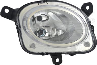 20-14281-05-2 TYC Head Lamp High Beam