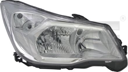 20-14499-05-9 TYC Head Lamp
