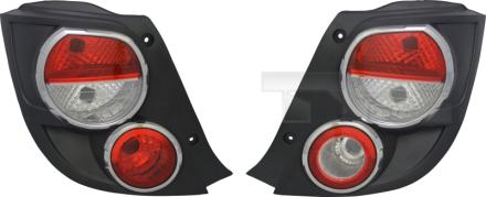 11-12007-21-2 TYC Tail Lamp Unit