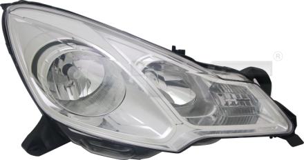 20-12257-00-21 TYC Head Lamp