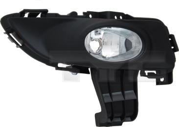 19-0867-21-2 TYC Fog Lamp Unit