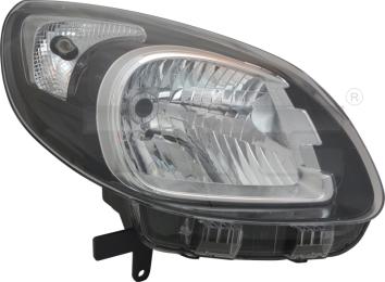 20-14905-25-2 TYC Head Lamp