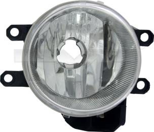 19-6019-01-9 TYC Fog Lamp Unit