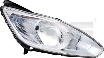 20-12565-00-21 TYC Head Lamp