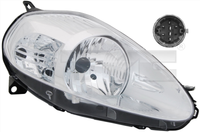 20-0849-25-2 TYC Head Lamp